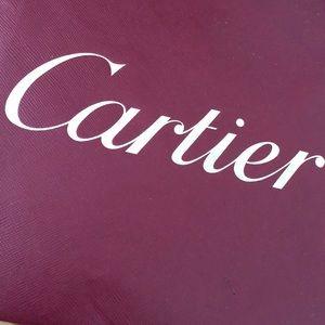 Cartier Other - Cartier Shopping Bag